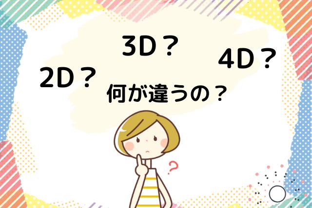 アートメイク、2D・3D・4Dの違い